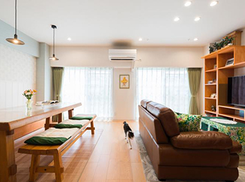 お客様の10年、20年先の暮らしを考えた設計 光と風が心地良く通る家をデザインしました