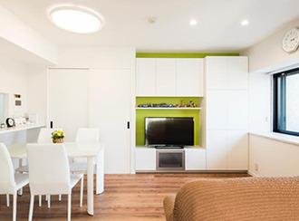 使いやすさと収納力でデザイン 造り付け家具の設計で安心な家づくり