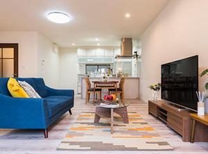 構造から見直し 安心で快適な住まいへ。設備の充実で暮らし快適!