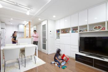 住空間収納プランナーが手がけたリフォーム 収納を計画し、整理整頓された気持ちの良い空間へ