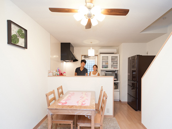 築45年、お爺様の住まいをリフォームしてふたりの新居に♪ 世代を超えて住み続けることの良さを再認識