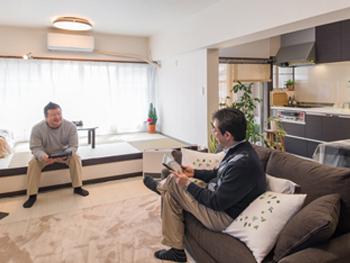 ホテルのインテリアをイメージした上質な住まい 窓まわりのリフォームで夏は涼しく、冬暖かく